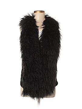 CAbi Faux Fur Vest Size XS
