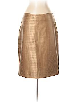 Tufi Duek Leather Skirt Size 46 (EU)