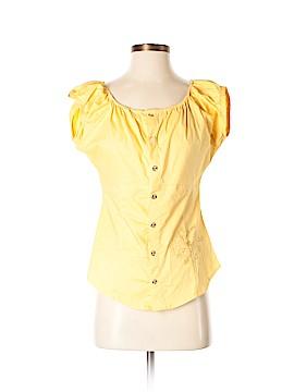 Apple Bottoms Short Sleeve Button-Down Shirt Size M