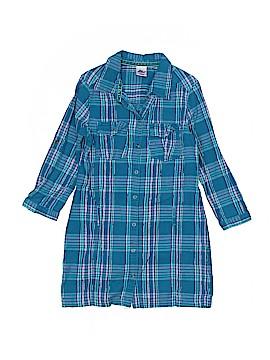 Miss Attitude Long Sleeve Button-Down Shirt Size 10