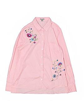 Falls Creek Long Sleeve Button-Down Shirt Size XL