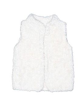 Carter's Faux Fur Vest Size 8