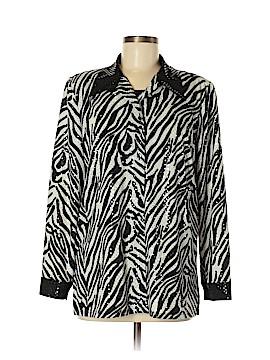 Clara S. Long Sleeve Blouse Size M