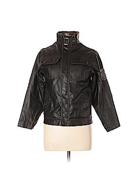 Hawke & Co. Faux Leather Jacket Size 10
