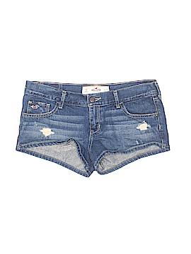 Hollister Denim Shorts Size 27 (Plus)