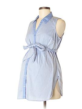 Motherhood Sleeveless Button-Down Shirt Size S (Maternity)
