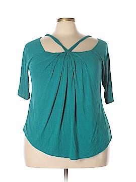 Kiyonna Short Sleeve Top Size 2X (Plus)
