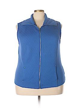 Karen Scott Sport Vest Size 2X (Plus)