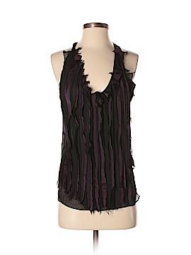 Barbara Bui Sleeveless Silk Top Size 36 (FR)
