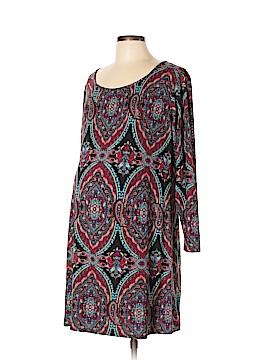 Lilac Casual Dress Size XL (Maternity)