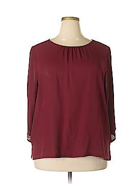 Bob Mackie 3/4 Sleeve Blouse Size XL