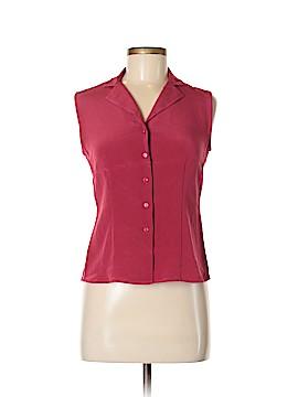 Casual Corner Sleeveless Silk Top Size 6