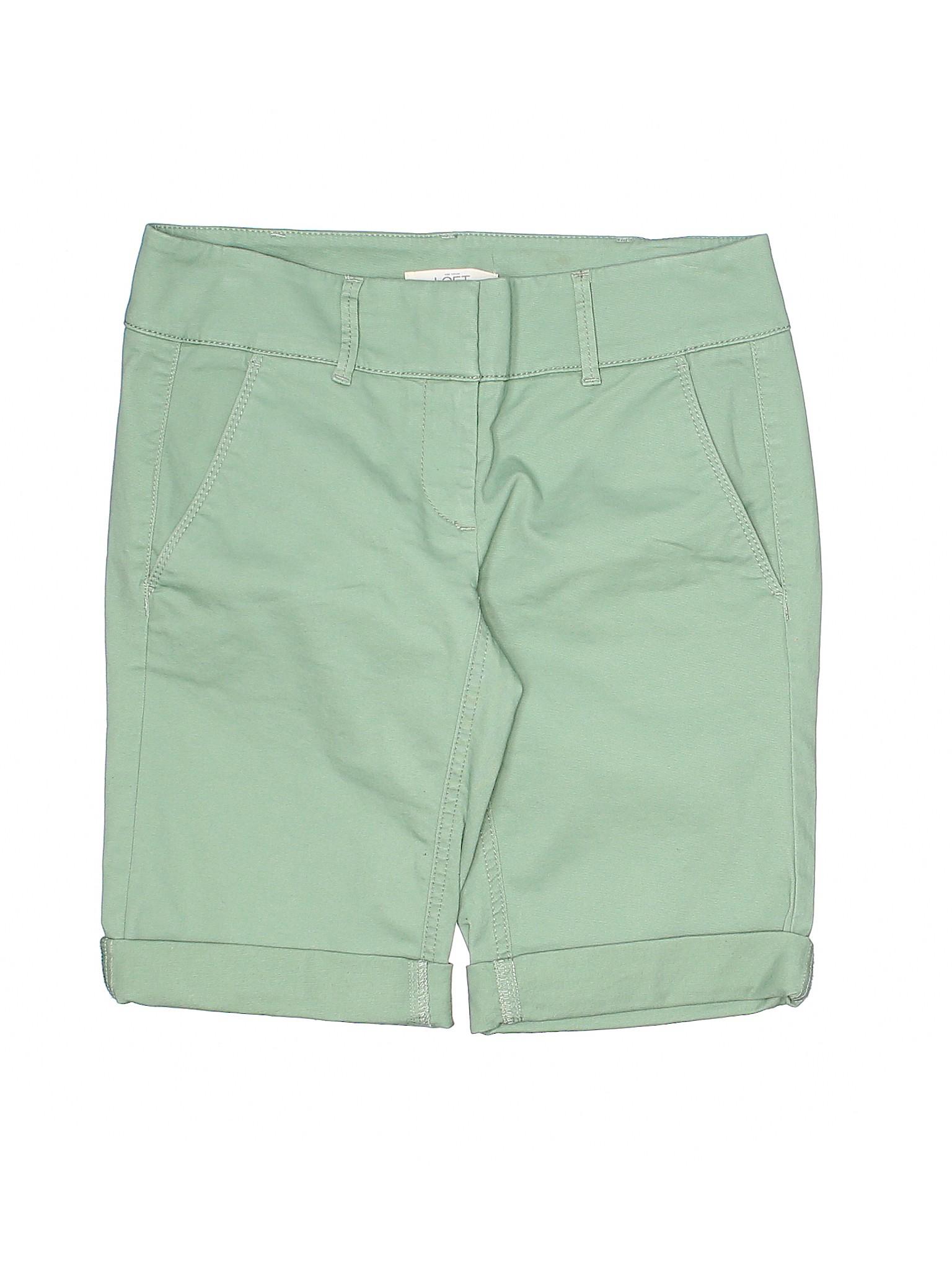 Boutique Shorts LOFT Khaki Ann Taylor rqwvpra