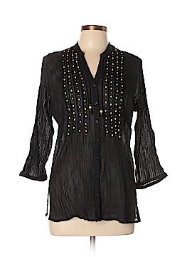 Jones New York Sport 3/4 Sleeve Button-Down Shirt Size XL (Petite)
