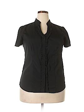 Style&Co Short Sleeve Blouse Size 14