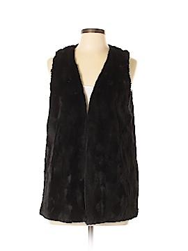 Tart Collections Faux Fur Vest Size M