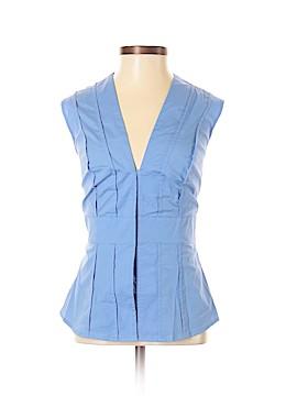 Moda International Sleeveless Button-Down Shirt Size XS
