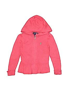 Ralph Lauren Zip Up Hoodie Size 4T - 4