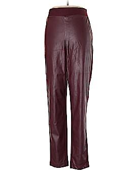 INC International Concepts Faux Leather Pants Size 16