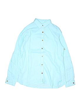 Margaritaville Long Sleeve Button-Down Shirt Size M