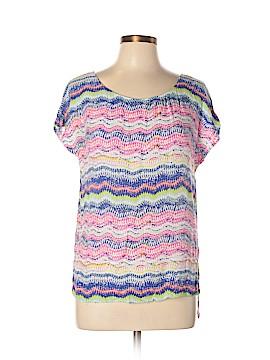 Ella Moss Short Sleeve Blouse Size L