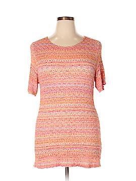Ninety Short Sleeve Top Size 1X (Plus)