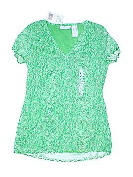 Lizwear by Liz Claiborne Short Sleeve Top Size S