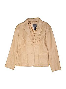 Uniform John Paul Richard Leather Jacket Size 8