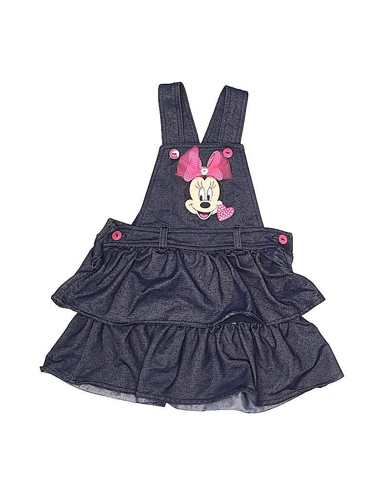 3b817cc7fb2 Disney Graphic Dark Blue Overall Dress Size 4T - 64% off