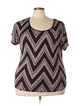 Lavish Short Sleeve Blouse Size 1X (Plus)