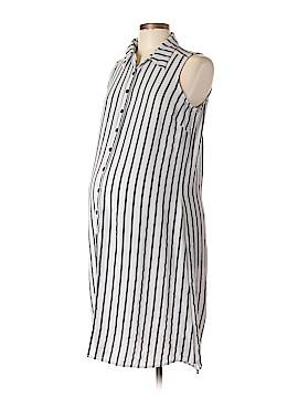 Lilac Maternity Casual Dress Size M (Maternity)