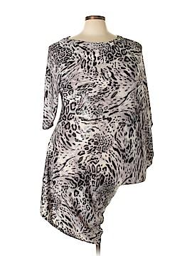 Snap Casual Dress Size 2X (Plus)