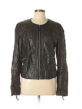 BKE Faux Leather Jacket Size L