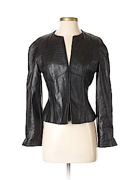 AK Anne Klein Leather Jacket Size S (Petite)