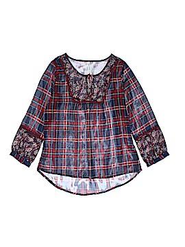 Girl Krazy 3/4 Sleeve Blouse Size XS
