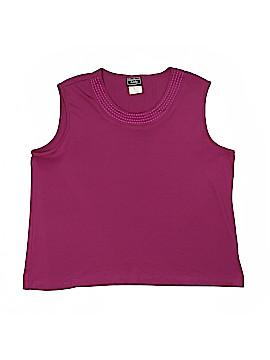 Southern Lady Sleeveless Blouse Size XL