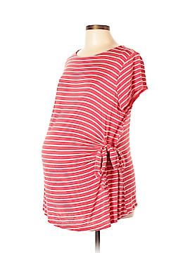 Ma Cherie Maternity Short Sleeve T-Shirt Size L (Maternity)