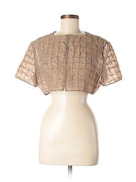 AKRIS for Bergdorf Goodman Silk Cardigan Size 12