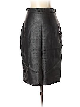 Banana Republic Faux Leather Skirt Size 0