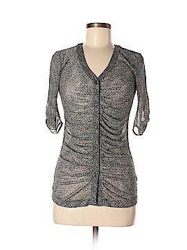 CAbi 3/4 Sleeve Button-Down Shirt Size XS