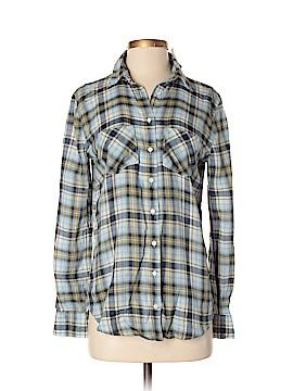 Aeropostale Long Sleeve Button-Down Shirt Size S