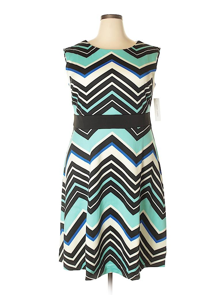 Sandra Darren Women Casual Dress Size 18w (Plus)