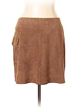 J. Crew Leather Skirt Size 10