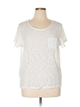 Jcpenney Short Sleeve Blouse Size 1X (Plus)
