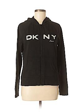 DKNY Active Zip Up Hoodie Size L