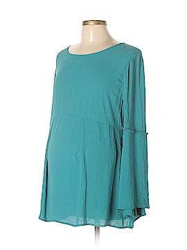 OCTAVIA Maternity Long Sleeve Blouse Size L (Maternity)