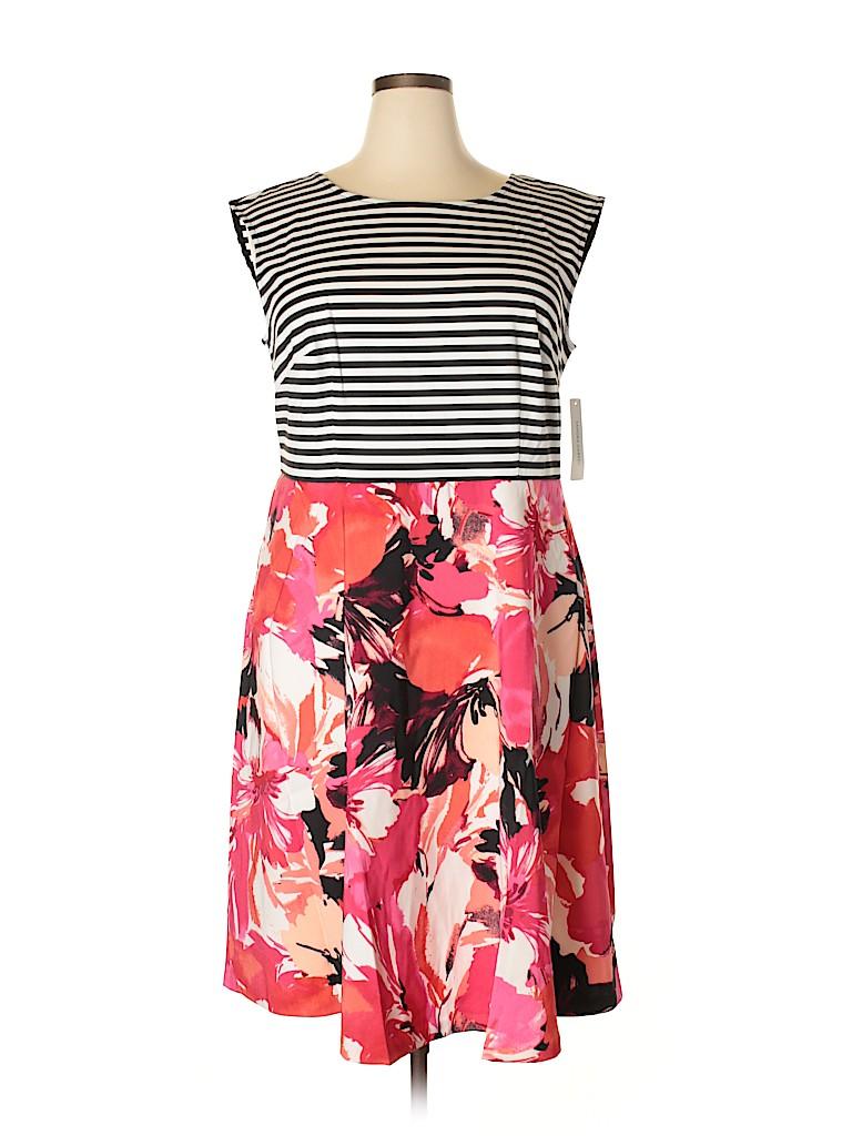 Sandra Darren Women Casual Dress Size 16W