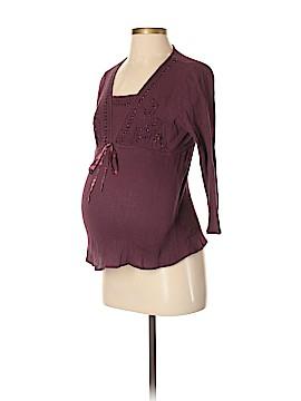 Reebok for Motherhood Maternity 3/4 Sleeve Blouse Size S (Maternity)