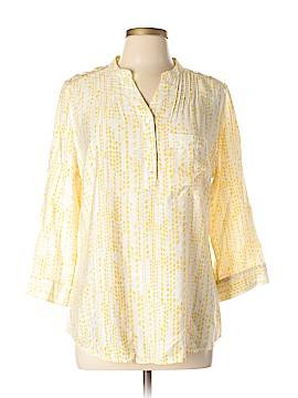 A.n.a. A New Approach 3/4 Sleeve Button-Down Shirt Size L