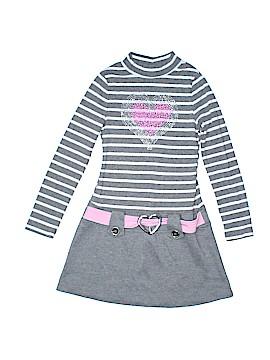 Pink & Violet Dress Size 7 - 8
